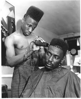 high-top fade barbershop